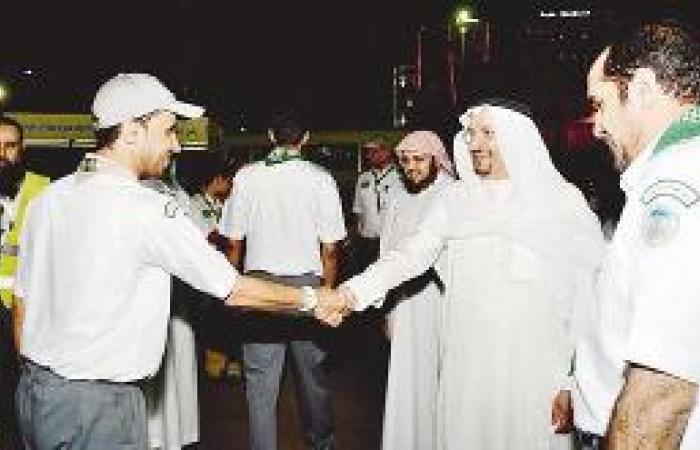 آل الشيخ يتفقد مركز «رسل السلام» الكشفي لخدمة الزوار