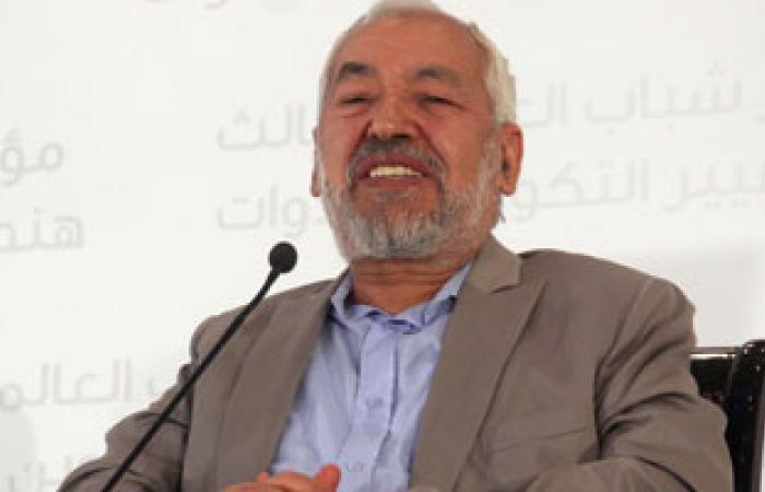 الغنوشى: الجيش التونسى رفض الانقلاب على المؤسسات الشرعية