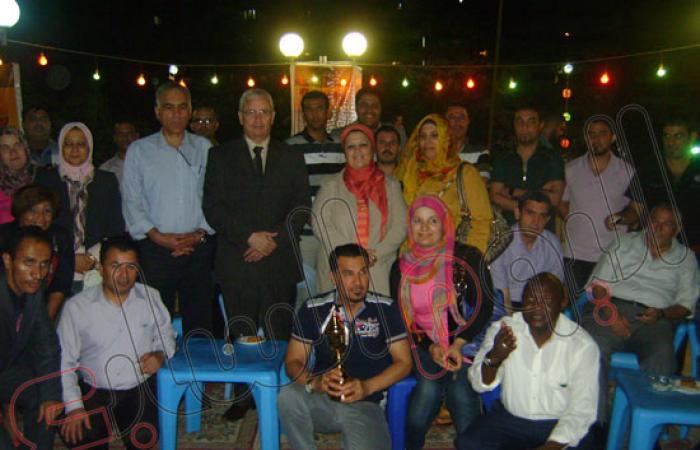 بالصور..إفطار جماعى للطلاب الوافدين بجامعة المنصورة