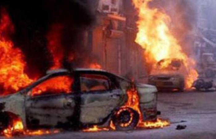 انفجار سيارة فى بنغازى يسفر عن قتيل