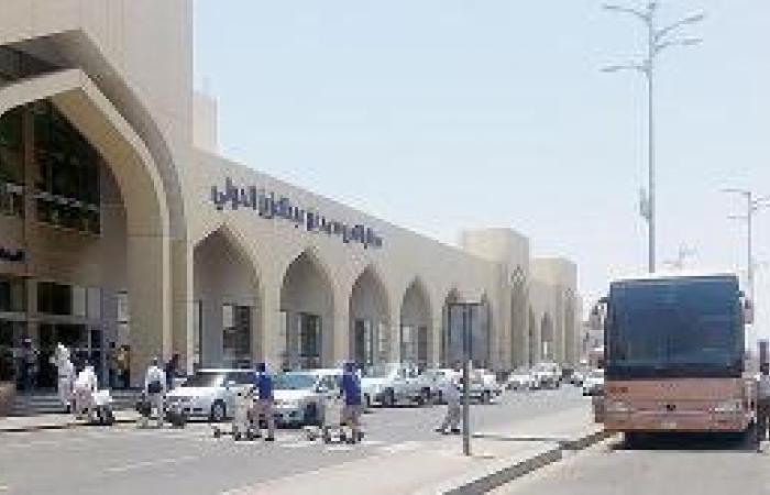 مطار المدينة يستعد لنقل نصف مليون مسافر خلال العيد