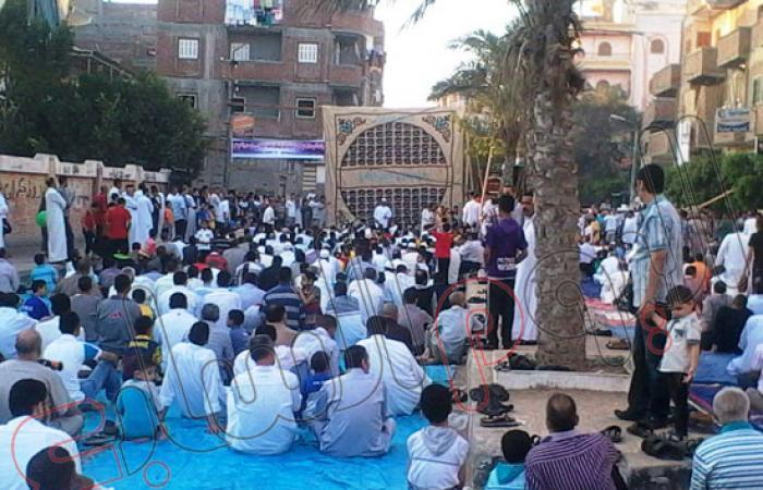 بالصور.. جبهة حركة أحرار فوة تنظم احتفالات عقب صلاة العيد