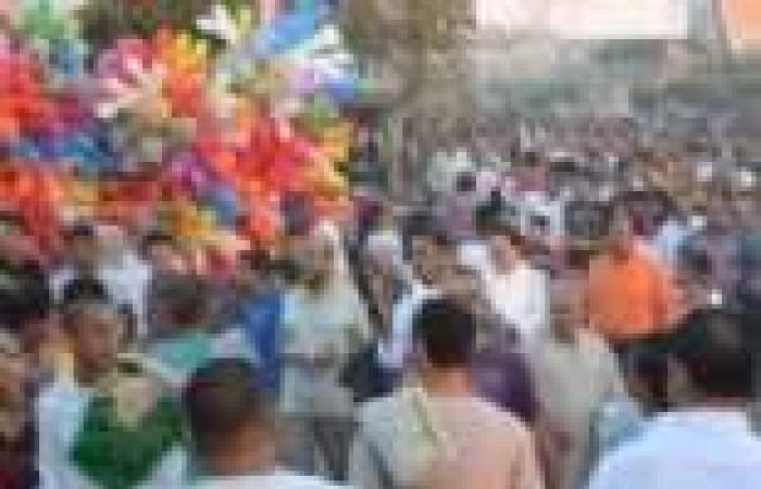 """القوى الثورية تنظم صلاة العيد للمرة الأولى في ميدان """"الساعة"""" بدمياط.. واختفاء تام لـ""""الإخوان"""""""
