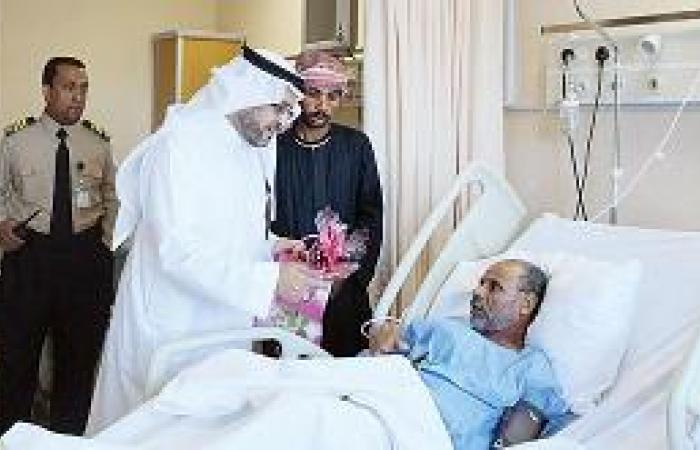 مركز القلب يحتفل مع المرضى بالعيد