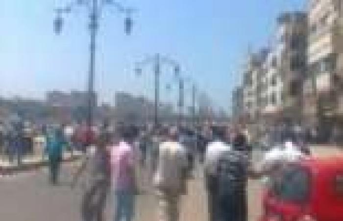 فشل مسيرة لأنصار الرئيس المعزول بكفر البطيخ بعد مشاركة أقل من 50 شخصًا
