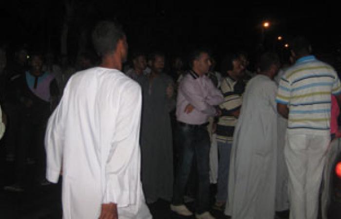 أهالى بكفر الشيخ يقطعون الطريق اعتراضا على معاكسة شاب لفتاة