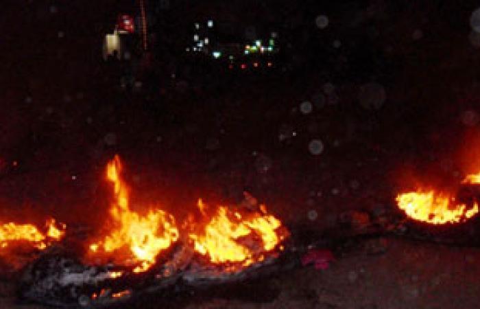 قطع شارع البحر بطنطا احتجاجاً على مقتل فتاة بعد التحرش بها