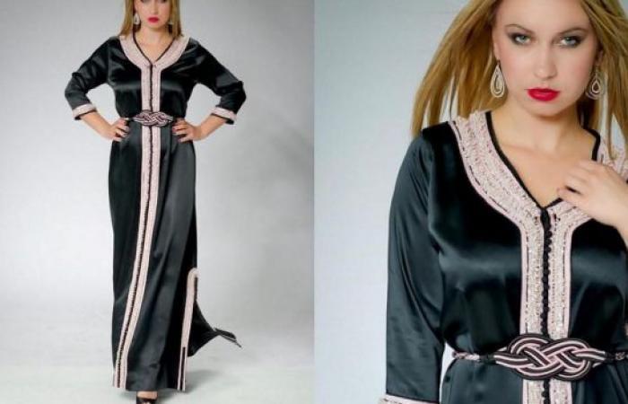 القفطان المغربي بتصاميم عصرية