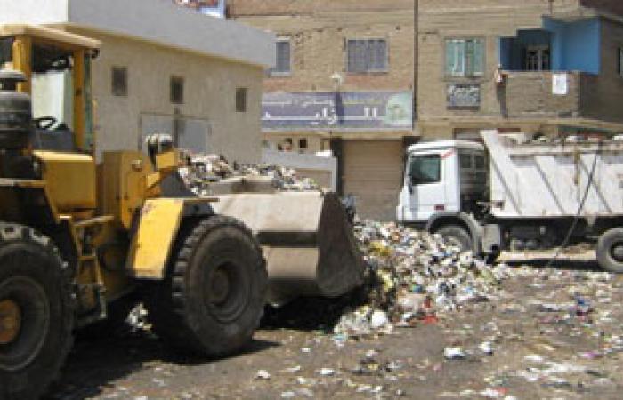 حملة نظافة بمنطقة مساكن عثمان بمدينة قنا