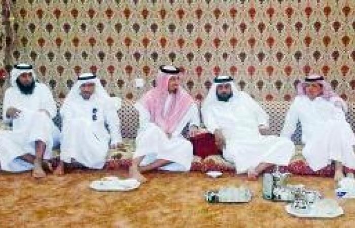 بلدية المحاني تقيم حفل معايدة للأهالي