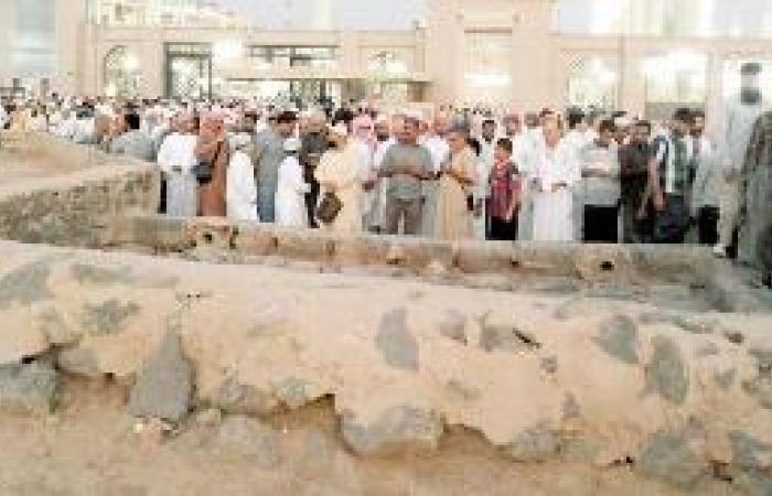 المساجد والمواقع التاريخية في طيبة تحظى بإقبال الزوار