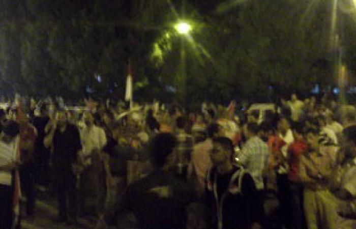 الإخوان يطلقون النيران فى منطقة حوض 10 بوسط مدينة قنا