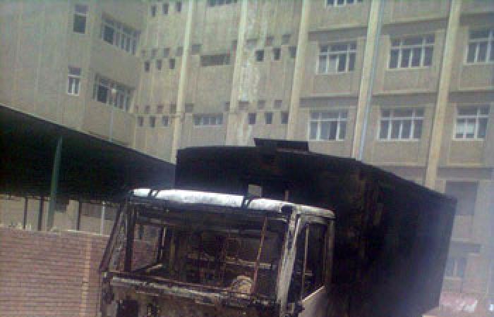 بالصور.. تجدد الاشتباكات بين الشرطة والإخوان فى شوارع دمنهور