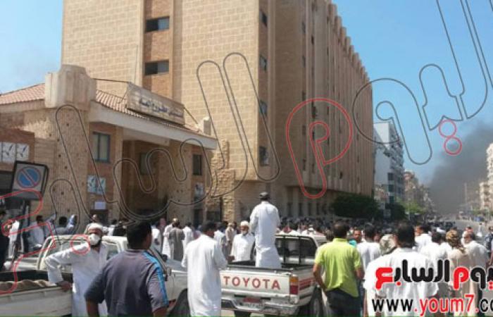 بالصور.. هدوء حذر بمدينة مرسى مطروح بعد سقوط قتيل و37 مصاباً
