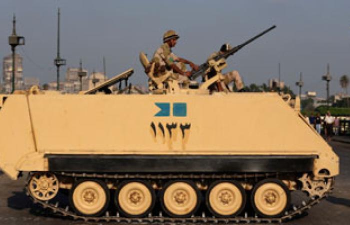المنطقة الشمالية العسكرية تدفع بـ10 مدرعات لمحيط قسم سيدى جابر