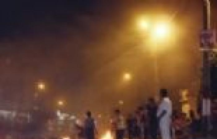 مصرع 10 وإصابة 17 في الاشتباكات بمحيط مطافئ العريش واشتعال 3 مدرعات