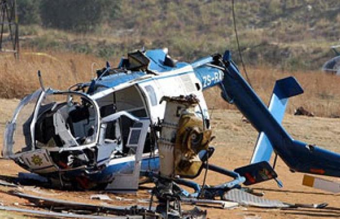 سقوط طائرة مروحية عسكرية جنوب صنعاء