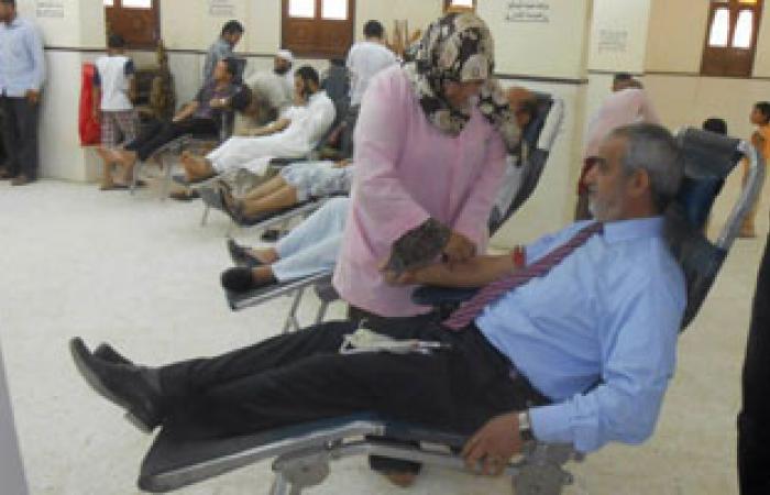 القوى السياسية بالقليوبية تدشن حملة للتبرع بالدم