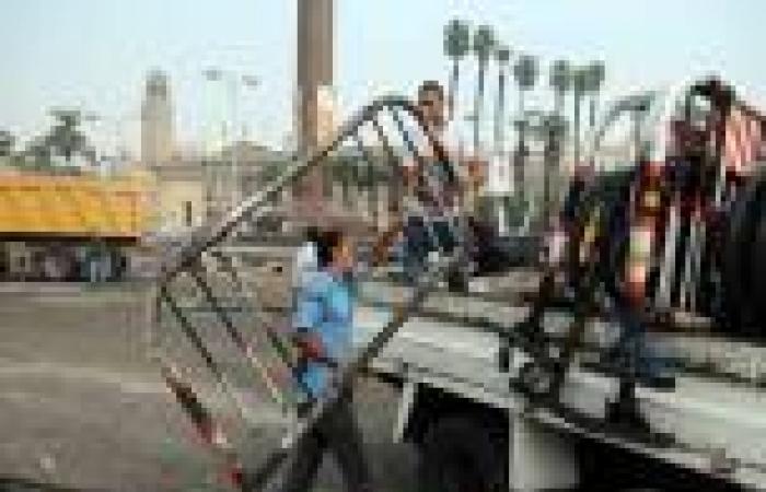 الهدوء يسود محيط «ميدان النهضة» بالجيزة.. وانتشار أمني بالمنطقة
