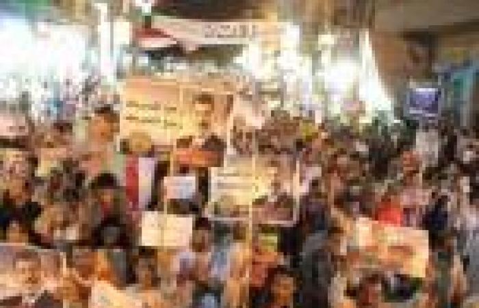 قوات الجيش تفض اعتصام أنصار مرسي بميدان المديرية ببني سويف