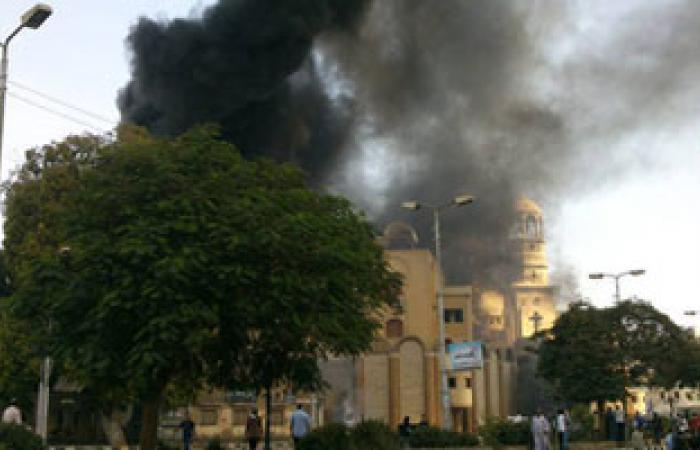 أسقف الكنيسة القبطية يشكر حكومة كندا لشجبها حرق الكنائس بمصر