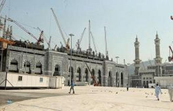 استعراض الدورات التأهيلية لمهندسي توسعة المسجد الحرام