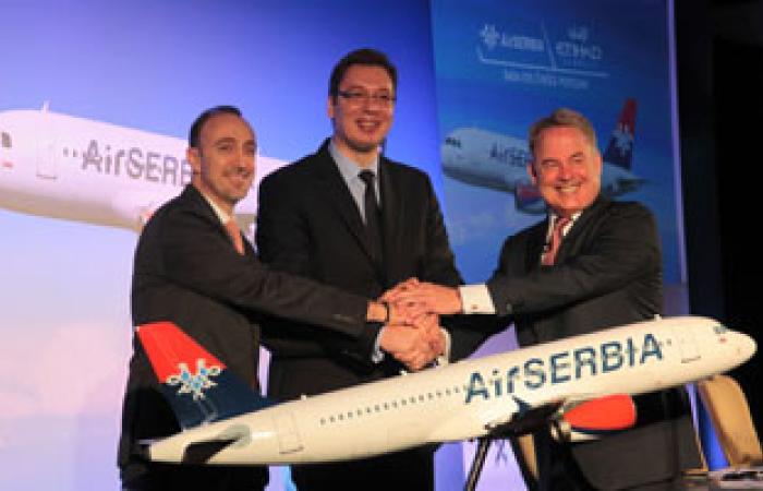 """شراكة إستراتيجية لتعزيز الاتحاد للطيران """"الإماراتى"""" والحكومة الصربية"""