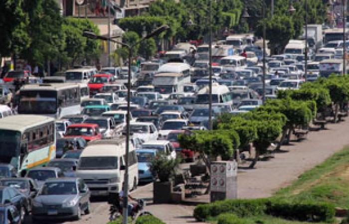 """شلل مرورى على طريق (طنطا-زفتى) بسبب حادث سيارة تابعة لشركة """"بيبسى"""""""