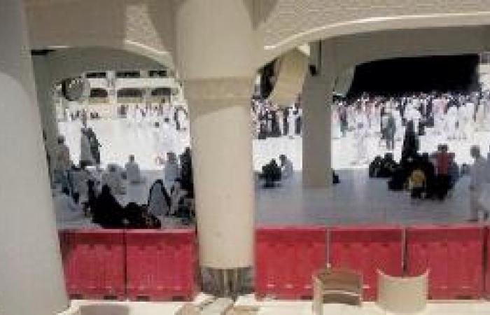 خدمة المطاف المعلق بالمرحلة الثانية م في الحج