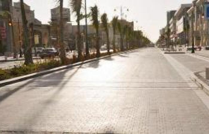 ممشى فلسطين.. المحال التجارية تطرد محبي الركض