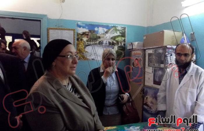 """وزيرة الصحة من """"كفر الشيخ"""": إنشاء إدارة للشكاوى والخدمات بالمحافظات"""