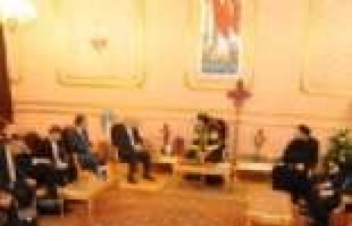 بالصور| تواضروس يلتقي وزير خارجية قبرص وبابا الروم الأرثوذكس