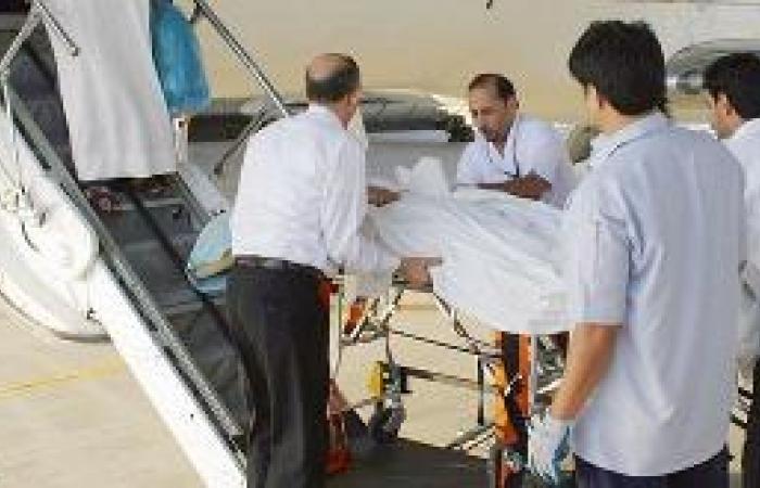 نقل 1075 مريضاً بالإخلاء الطبي خلال 8 أشهر
