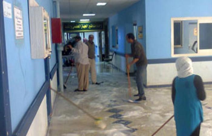 تشغيل عيادة الكشف المبكر عن أمراض القلب بمستشفى أبو قير بالإسكندرية