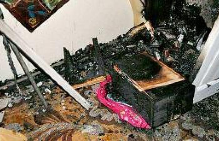 عبث الأطفال بـ «ولاعة» يشعل حريقاً في عمارة