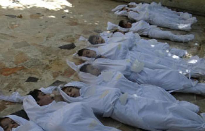 ناشطون سوريون: مقتل 57 جنديا من القوات الحكومية فى ريف دمشق وحلب