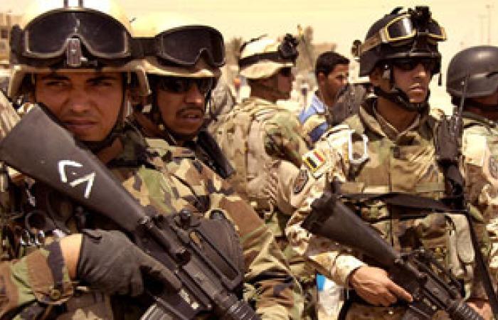 الجيش العراقى ينفذ أول تمرين تعبوى بالذخيرة الحية بعد عام 2003