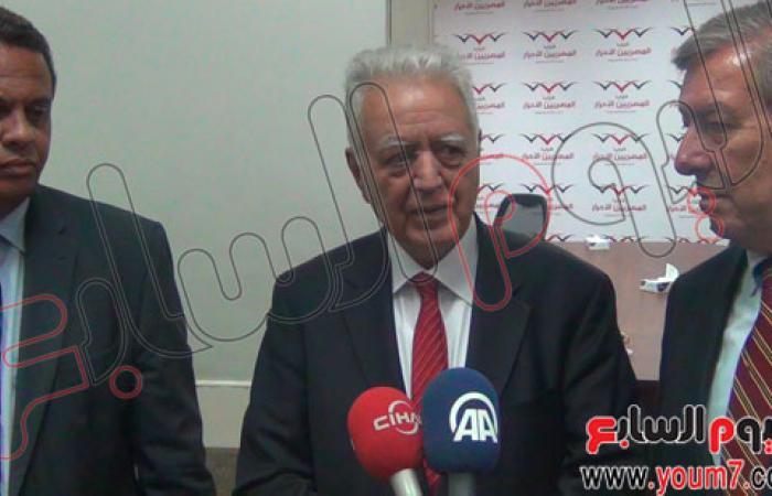 بالصور.. المصريين الأحرار يستقبل وفد حزب الشعب التركى المعارض