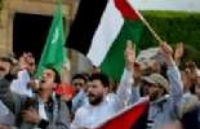 وقفة احتجاجية أمام القنصلية الأمريكية بالقدس لرفض الضربة العسكرية المحتملة لسوريا