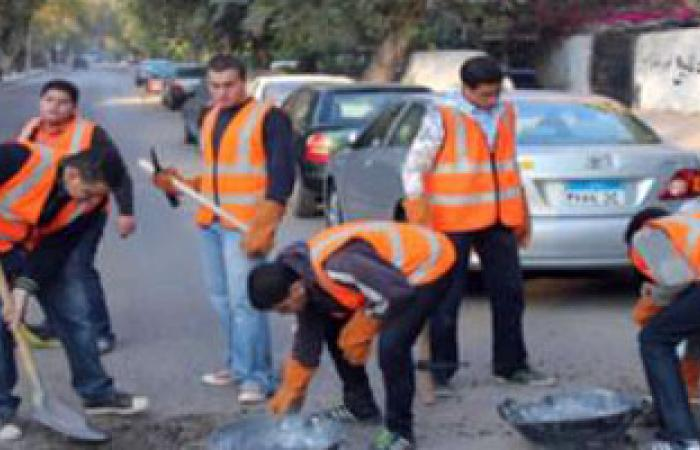 إضراب عمال النظافة بالمحلة يدخل يومه الثانى للمطالبة بالتعيين