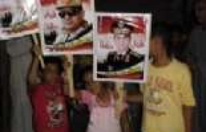 مسيرة لأهالي أبو كبير لتأييد الجيش ورفض الحرب الأمريكية ضد سوريا