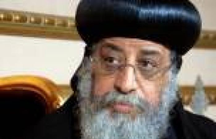 البابا تواضروس يستقبل عمرو موسى ويطلب منه تعديل المادة 3 من الدستور المعطل