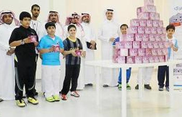 توزيع 600 هدية معايدة في ابتدائية الجبيل