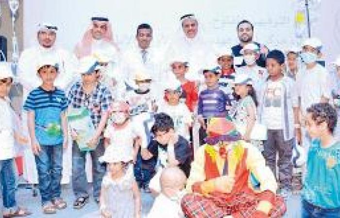 يوم مفتوح لأطفال مركز الملك فهد الوطني للأورام