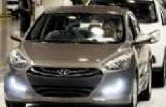 39 % ارتفاع صادرات كوريا من السيارات فى أغسطس
