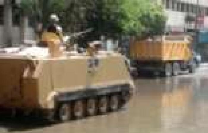 مصادر أمنية فلسطينية: مدرعتان مصريتان تتجولان على الحدود مع غزة لأول مرة منذ 1979