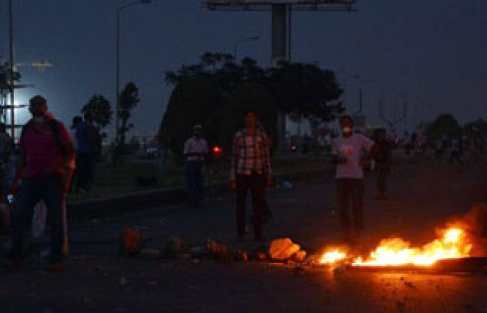 إصابة 3 أشخاص فى اشتباكات بين الأهالى والإخوان بمدينة أبو المطامير