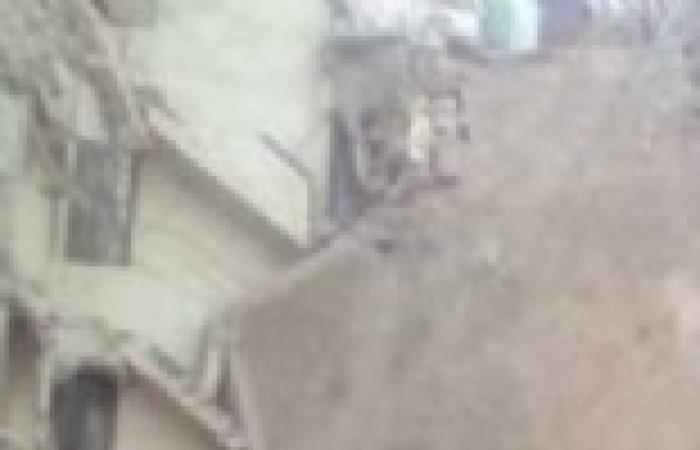 عاجل| التليفزيون المصري: انهيار عقار مكون من 4 طوابق في حدائق القبة