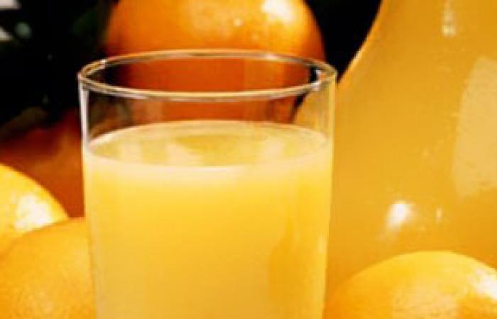 دراسة: عصير البرتقال يساعد فى الوقاية من العديد من السرطانات