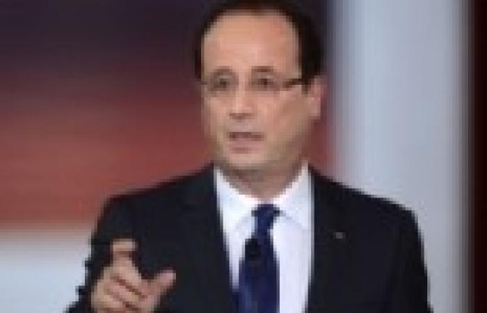 """60 % من الفرنسيين غير راضين على إدارة """"أولاند"""" للأزمة السورية"""